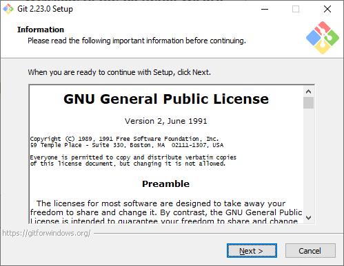 Instalasi Git 1