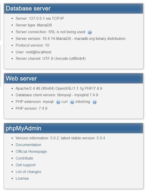 Setting Multi versi PHP 7.4.9