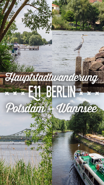 Europäischer Fernwanderweg E11  Hauptstadtwanderung Berlin  Etappe von Potsdam zum Nikolassee am Wannsee  Wandern in Berlin-Brandenburg  Tourenplanung mit GPS-Track 20