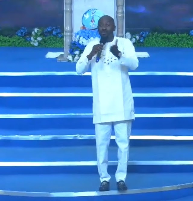 A man who beats a woman is less than an animal - Apostle Suleman (video)