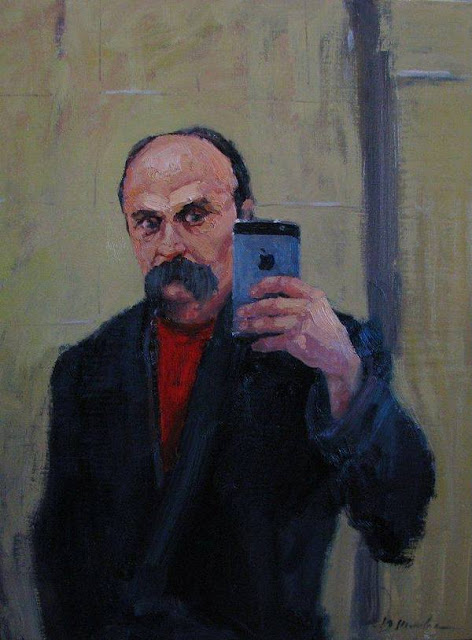 Тарас Шевченко, селфі