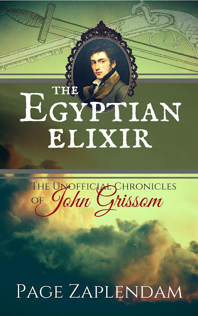 New Book Release from Page Zaplendam: The Egyptian Elixir
