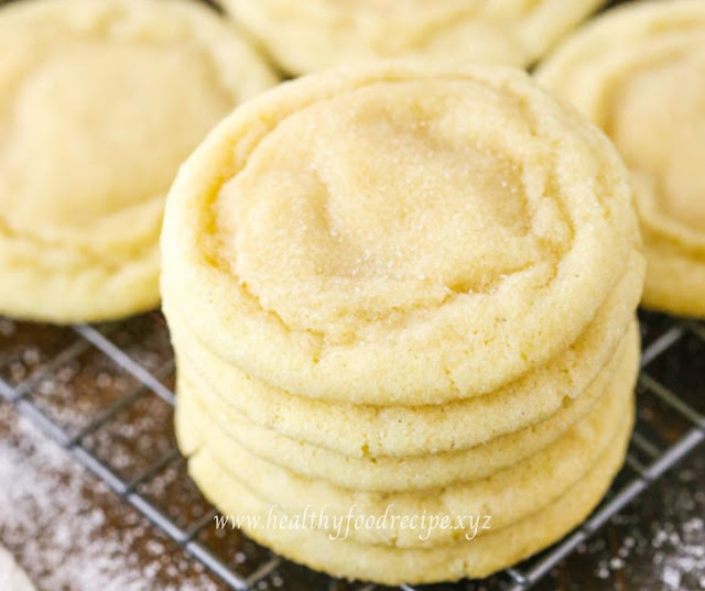 CHEWY SUGAR COOKIES RECIPES
