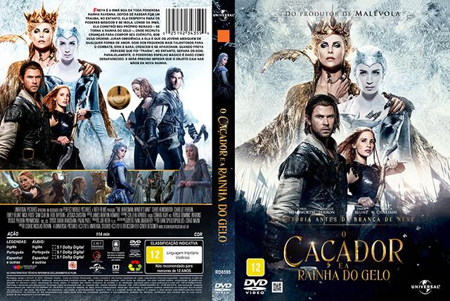 O Caçador e a Rainha do Gelo (2016) DVD-R OFICIAL