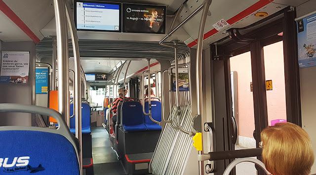 Ônibus 01, Lucerna, Suíça
