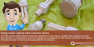 Energy insider calls for fairer customer servce