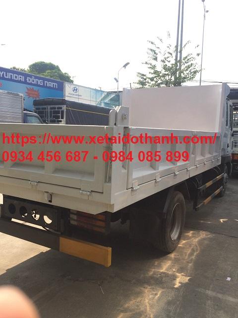 Thùng xe ben HD120 Hyundai 6 tấn