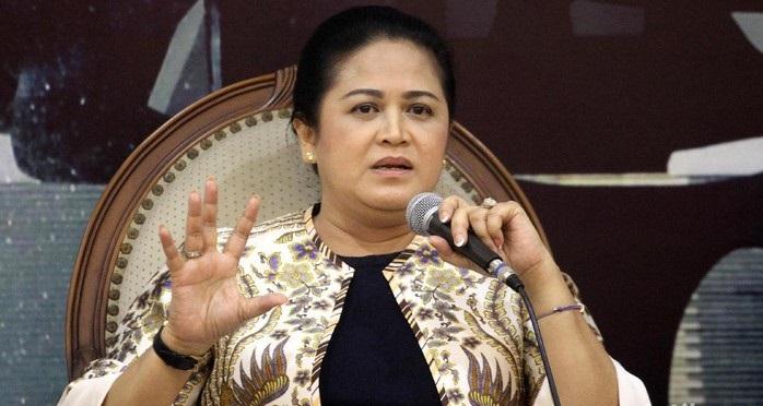 """Begini Jawaban Connie Bakrie Terkait Permintaan Prabowo Bongkar Sosok """"Mr. M"""" Mafia Alutsista"""