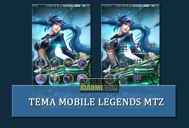Tema Xiaomi Mobile Legends Mtz For MIUI Terbaru