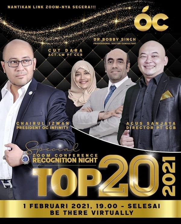 MALAM PENGANUGERAHAN TOP 20 LEADER OURCITRUS