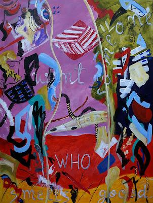 049-Oana-Singa-I-Want-Someone-Who-Smells-Goood-2017-acrylic-on-canvas-48X36in-122X91cm
