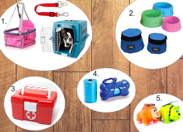 #partiuviajar: o que levar no kit de viagem de seu pet?