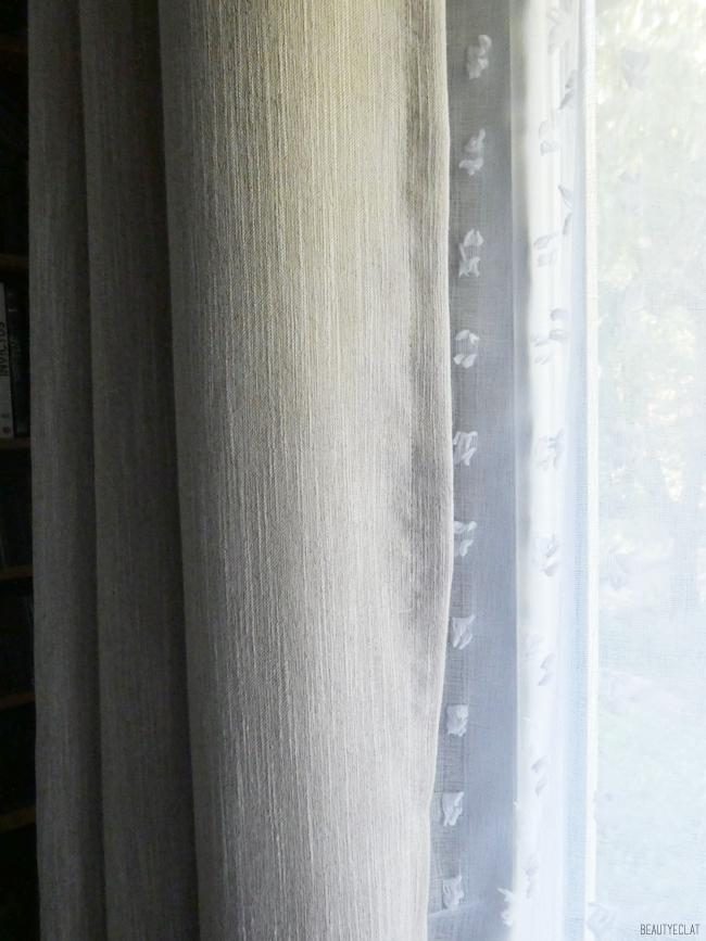 marche du rideau rideaux epais oeillets avis
