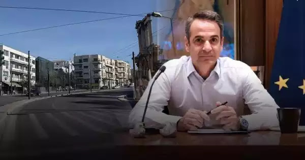 """Μητσοτάκης προς Έλληνες: «Τουλάχιστον ένα μήνα """"κλειδωμένοι"""" μέσα - Θα αργήσει πολύ η κανονικότητα»"""