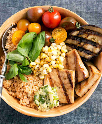 Grilled Vegetable Couscous Bowl Recipe