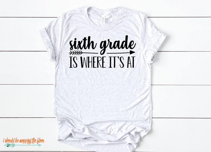 6th Grade Tshirt