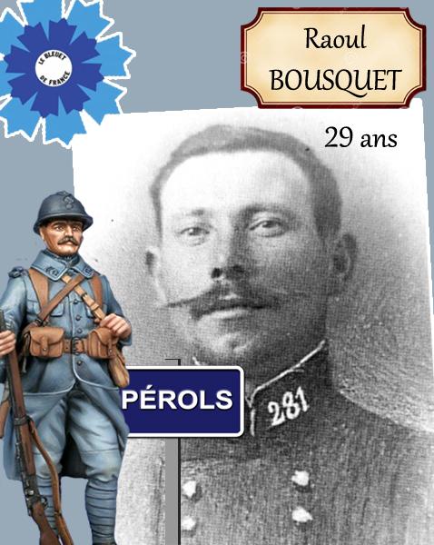 Raoul Bousquet – Pérols