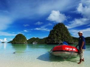 Kepulauan Wayang di Kabupaten Raja Ampat