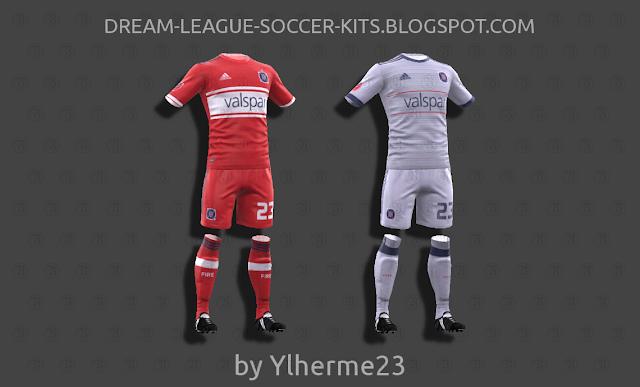 release date 85804 85e33 Chicago Fire 2018 - Dream League Soccer Kits