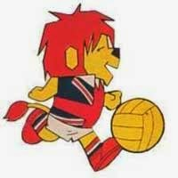 Mascote da Copa do Mundo de 1966: leãozinho Willie.