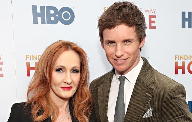 Eddie Redmayne defende J.K. Rowling de comentários 'absolutamente nojentos' | Ordem da Fênix Brasileira