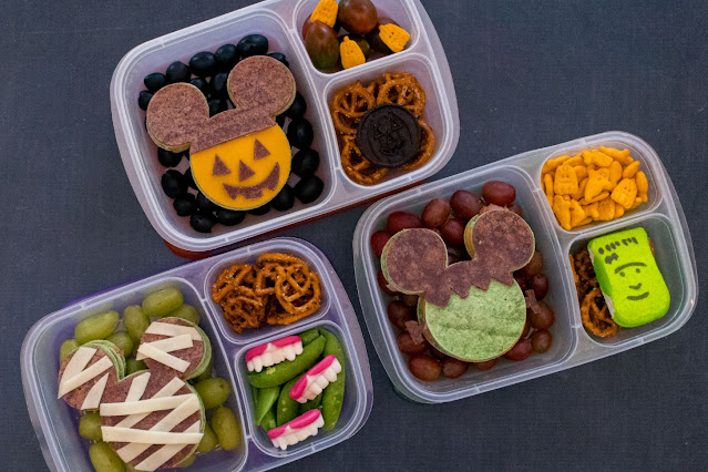 Disney Halloween Mickey Mouse Ears Lunch Recipes