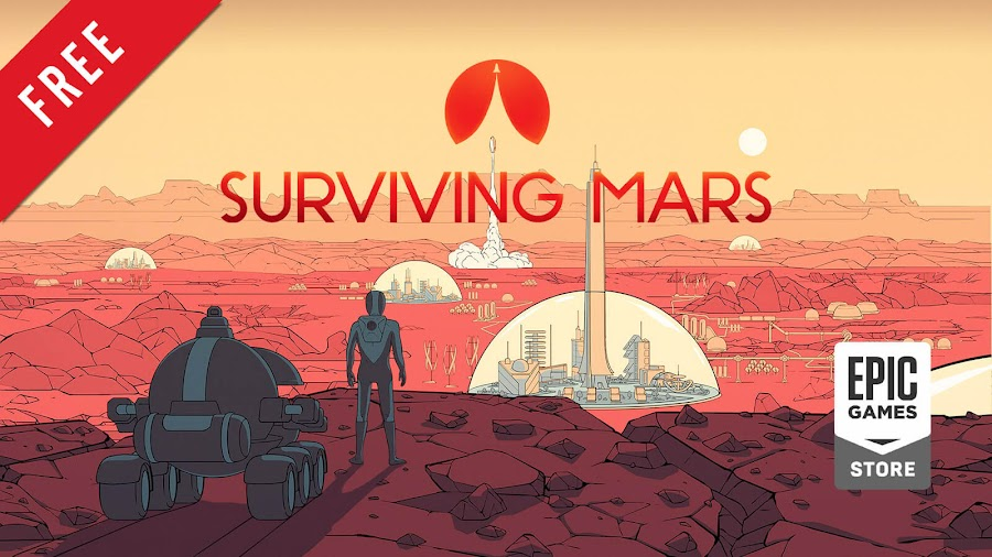 surviving mars free pc game epic games store city builder simulation 2018 haemimont games paradox interactive