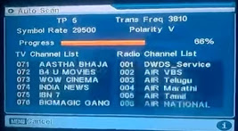 DD Free Dish Channel List 2020 MPEG-2 - 30 September 2020