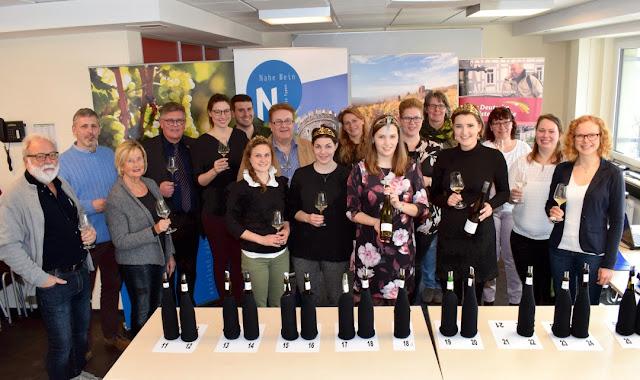 Jury des Weinwettbewerbs Edelschliff 2018