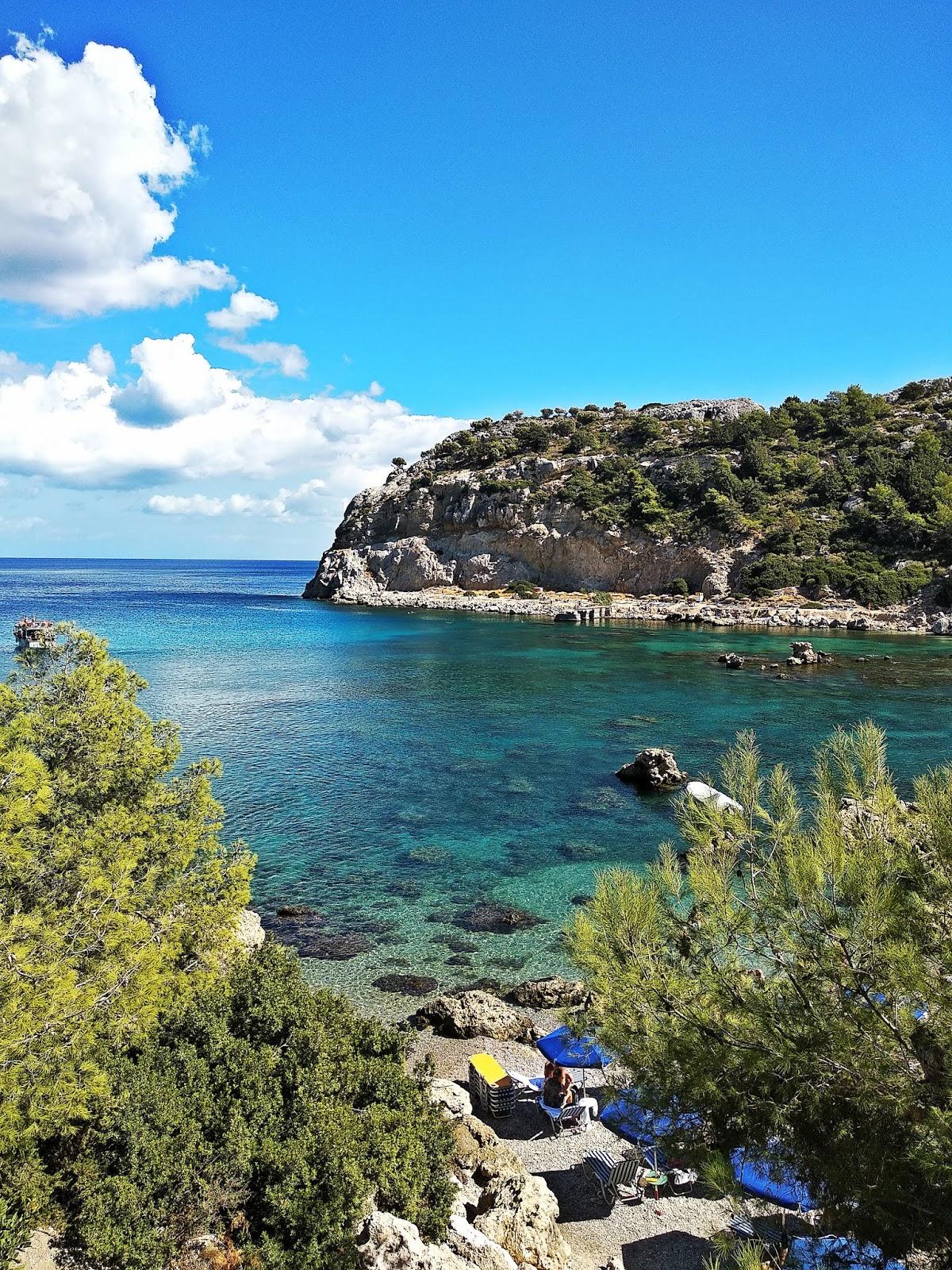 zatoka anthony quinn bay rodos rhodes grecja  podróż poślubna karyn blog modowy grecja wakacje urlop