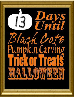 Downloadable Halloween Countdown Calendar | ReviewThisReviews.com | AbilityPoweredDesign on Etsy