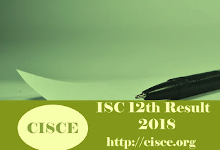 ISC 12th Results 2018 | ISC Class 12th Results 2018