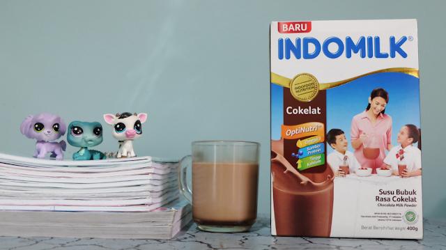 Manfaat Susu Bubuk Indomilk Untuk anak