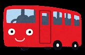 バスのキャラクター「赤」