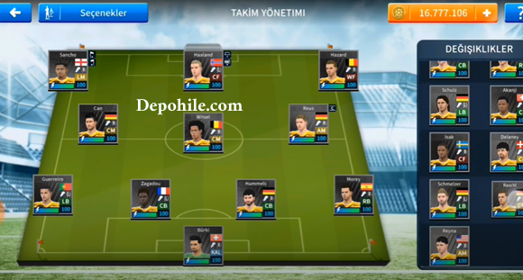 DLS 21 Borussia Dortmund Forma, Transfer Yaması İndir Hileli