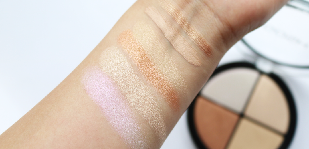 GOSH Strobe 'N' Glow Kit in 001 Highlight swatches