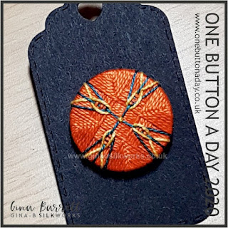 Day 309 : Current - One Button a Day 2020 by Gina Barrett