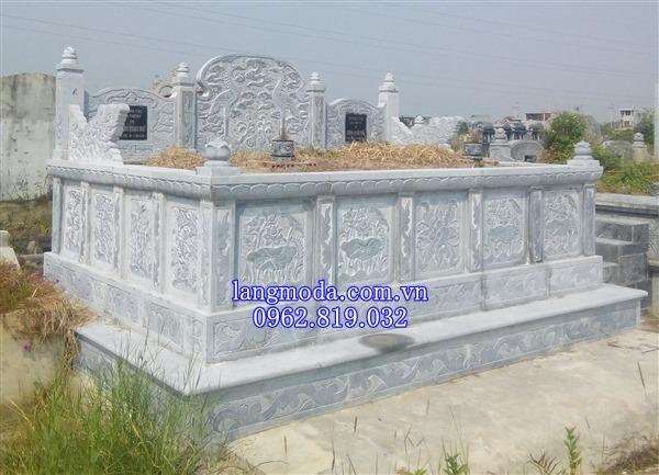 Sản phẩm cần bán: Kích thước xây móng mộ đá đôi đẹp cho ông bà cha mẹ Mau-mo-da-doi