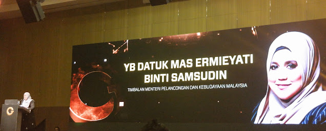 the Malaysia FinTech Ecosystem Conference and GT Dollar Grand Launch, GT Dollar, GT Robot, e-commerce system, Y.B. Datuk Mas Ermieyati Binti Samsudin, Deputy Minister of Tourism and Culture , what is GT dollar?, how to use gt dollar, gt mobile,