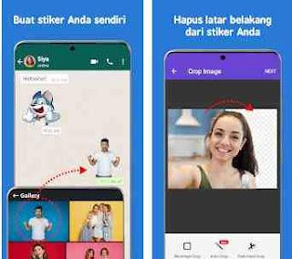 Aplikasi Sticker Foto