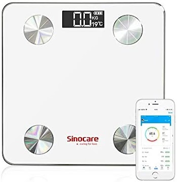 50% off Sinocare Bluetooth Body Fat Scale