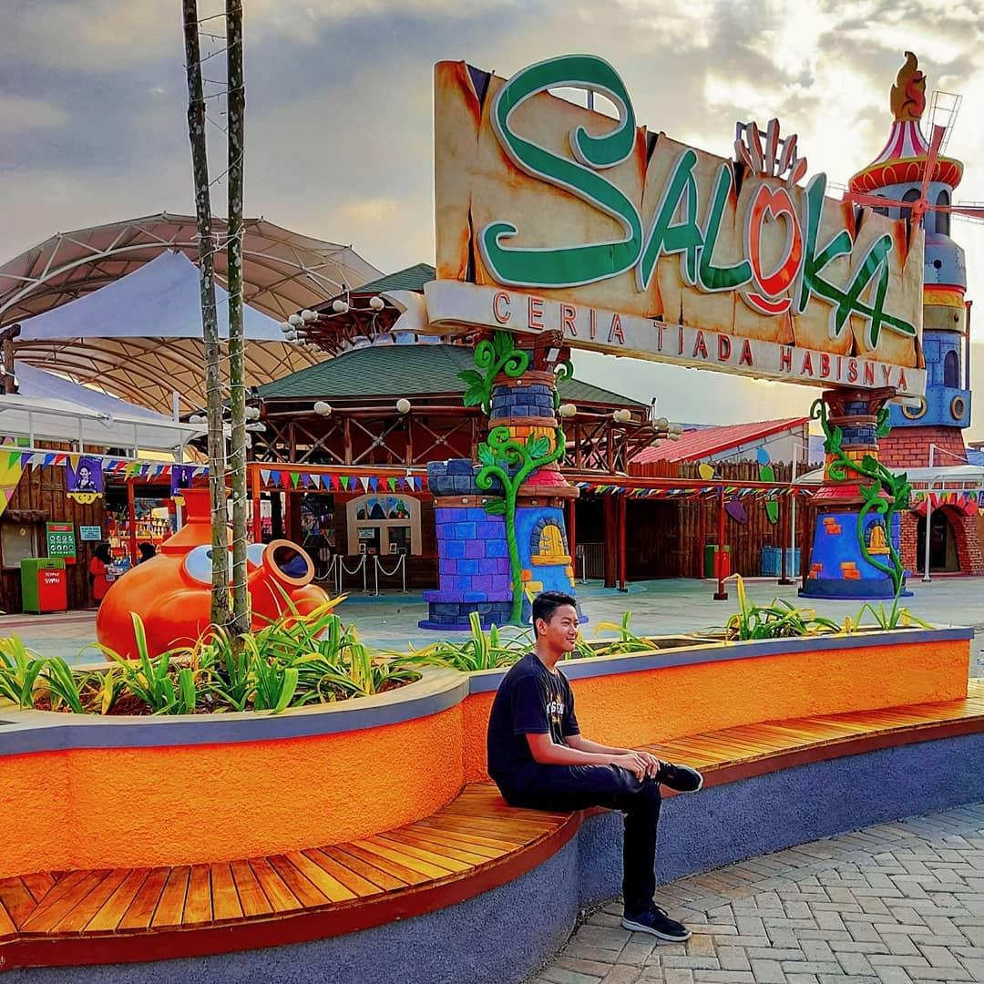 Harga Tiket Masuk dan Wahana Saloka Theme Park Semarang - Wisatainfo