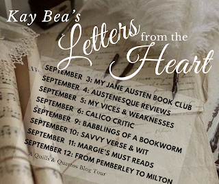 Blog Tour: Letters from the Heart by Kay Bea