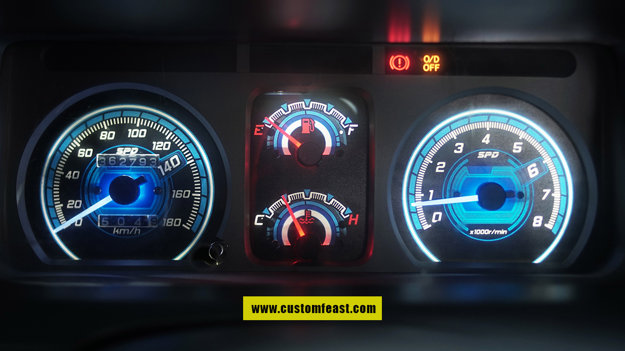 Speedometer Custom Kijang Kapsul