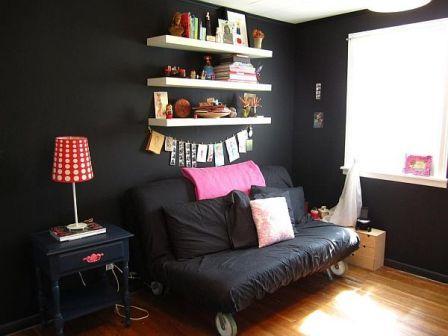 Warna Cat Interior Rumah Jotun  24 cat tembok hitam mengkilap ide terkini