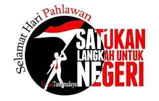 Logo Gambar Selamat Hari Pahlawan 10 November 2017