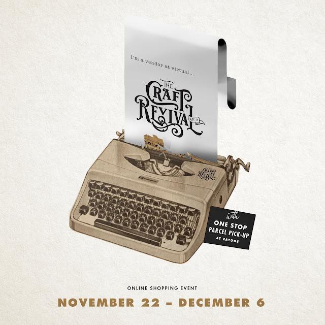 Craft Revival online shopping event, Nov. 22- Dec. 6, 2020