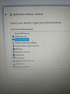 cara update driver device android