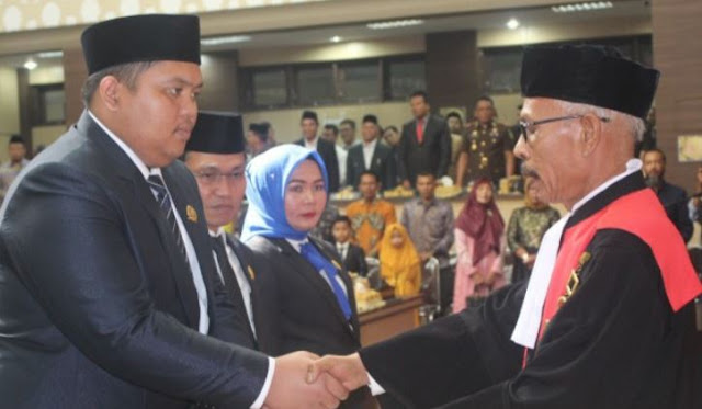 Ade Fadly Pranata Bintang Ketua DPRK Subulussalam