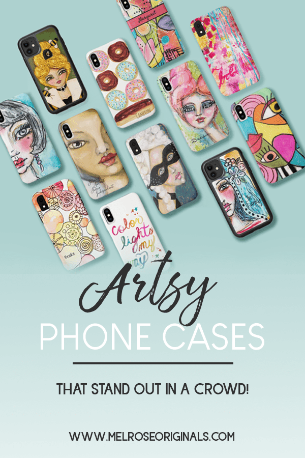 image of assorted Artsy Phone Cases that Stand Out in a Crowd